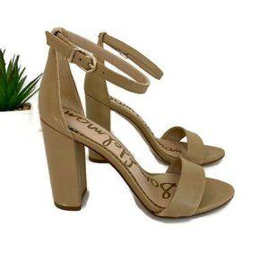 NEW** Sam Edelman Yaro Block Heel Sandals 6